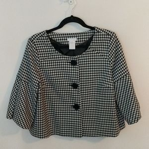 Worthington | Black + White Houndstooth | PL